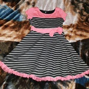 Zunie girls 10/12 striped dress